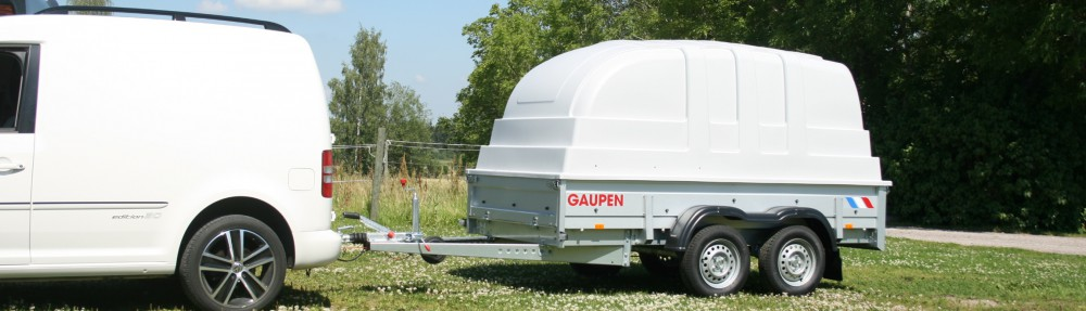 Släpvagnar från Gaupen – www.gaupen.se